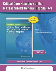 Critical Care Handbook of the Massachusetts General Hospital, 6/e, 2016 by Wiener-Kronish