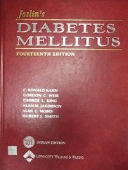 Joslin's Diabetes Mellitus 14th Edition 2005 Reprint (Indian Edition) by C Ronald Kahn