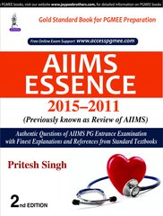 AIIMS Essence 2015-2011 (Previously known as Review of AIIMS) Pritesh Singh