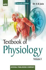 Textbook of Physiology (Volumes I and II) 7th Edition 2017 by Dr. AK Jain