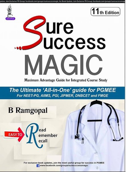 Sure Success MAGIC 11th Edition 2018 by B Ramgopal