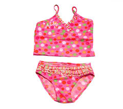 Tankini Bikini 2-Piece Swimwear Bathing Suit