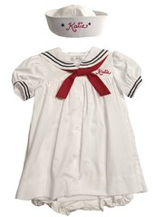 Sailor Dress & Sailor Hat Nautical