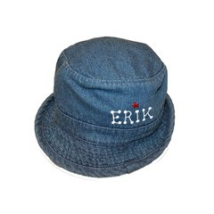 Newborn Denim Bucket Unisex Hat
