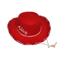 Child Felt Cowboy Hat with tie strap