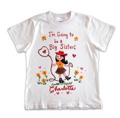 I'm Going To Be The Big Sister T Shirt