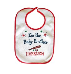 I'm the Baby Brother Bib