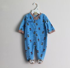 Puppy Romper with Footies