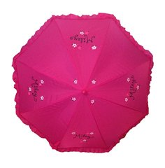 Ruffled Girls Umbrella