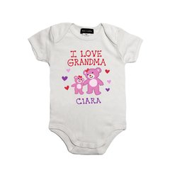 I Love Grandma Onesie