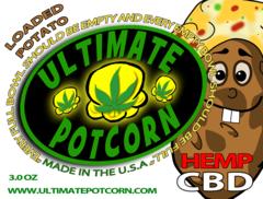 Loaded Potato CBD60mg - Ultimate Potcorn