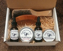 MOUNTAIN MAN OILS DELUX GROOMED BEARD GIFT SET