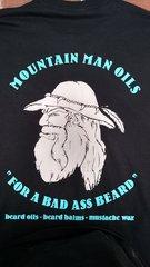 MOUNTAIN MAN OILS - BAD ASS BEARD T-SHIRT
