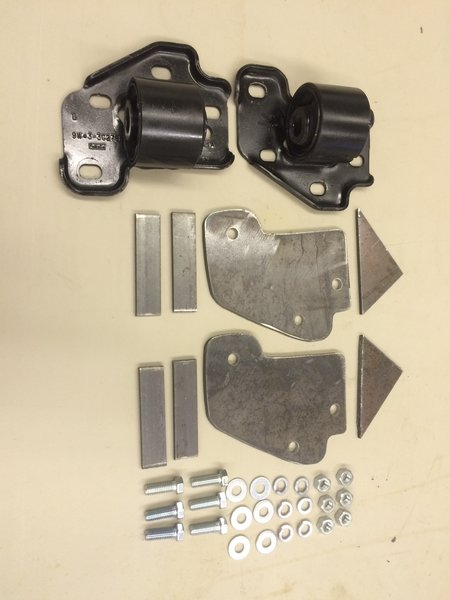 Kit 718 Amp 719 Trailing Arm Bracket W Bushing Rotated