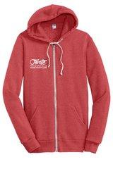 Tri-Blend signature zip hoodie by Alternitive