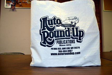 Canvas Tote Bags for Swap Meets & Car Shows