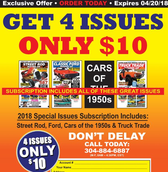 4 Issues Just $10