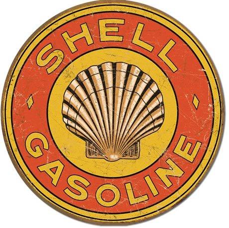 Shell Gasoline Vintage Metal Sign