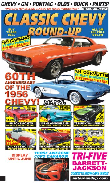 Classic Chevy Round-Up (APR / MAY 2016)