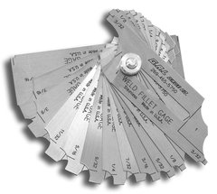 12-Piece Fillet Weld Set - With Markings on BOTH Sides (GG-8d)