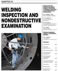 WHC1.14 Welding Inspection and Nondestructive Examination, AWS (Video Presentation)