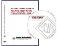 IFS CD:2002 International Index of Welding Filler Metal Classification, AWS