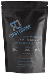 1:1 RECOVERY (WHEY ISOLATE + CARB)