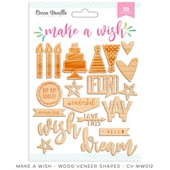 Cocoa Vanilla Make A Wish Wood Veneer