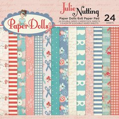 Photoplay Julie Nutting Paper Dolls 6 x 6 Paper Pad