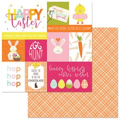 PhotoPlay Hoppy Easter Hop 12 x 12 Card Stock
