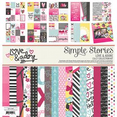 Simple Stories Love & Adore 12 x 12 Collection Kit