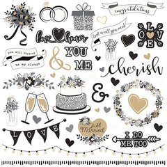 PhotoPlay - We Do 12 x 12 Cardstock Element Stickers