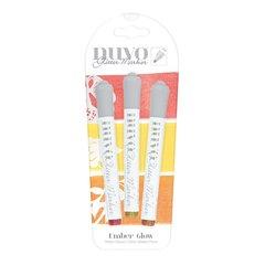 Nuvo Glitter Marker Set Ember Glow 170N
