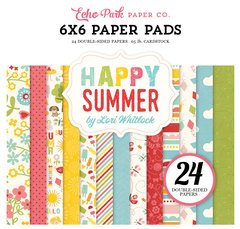 Echo Park Happy Summer 6 x 6 Paper Pad