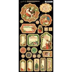 St. Nicholas Chipboard Graphic 45