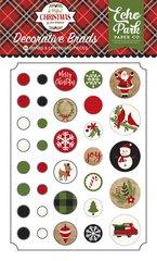 Echo Park A Perfect Christmas Decorative Brads