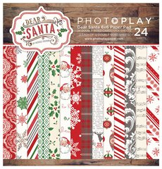 PhotoPlay 6 x 6 Dear Santa Paper Pad