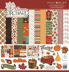 PhotoPlay Autumn Orchard 12 x 12 Collection Kit