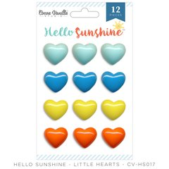 Cocoa Vanilla Hello Sunshine Little Hearts Pack