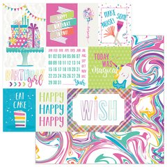 PHOTOPLAY CAKE RAINBOW SPRINKLES 12 X 12 Cardstock Make a Wish