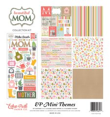 Echo Park Beautiful Mom 12 x 12 Mini Collection Kit