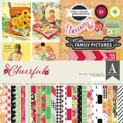 Authentique Cheerful 12 x 12 Collection Kit