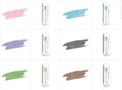 Nuvo 6 piece Glitter Marker Lot NEW COLORS