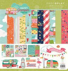 Photoplay Happy Glamper 12 x 12 Collection Kit