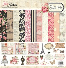 Photoplay Julie Nutting Belle Vie 12 x 12 Collection Pack