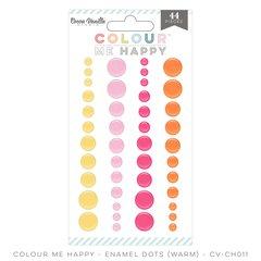 Cocoa Vanilla Colour Me Happy Warm Enamel Dots