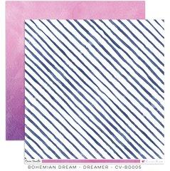 Cocoa Vanilla Studio Bohemian Dream DREAMER 12 x 12 Carddstock
