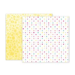 Pink Paislee Summer Lights 12 x 12 Double Sided Paper 3