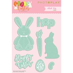 PhotoPlay Hoppy Easter Large Etched Dies