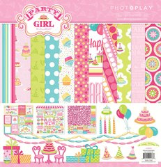 Photoplay Party Girl 12 x 12 Collection Pack Birthday